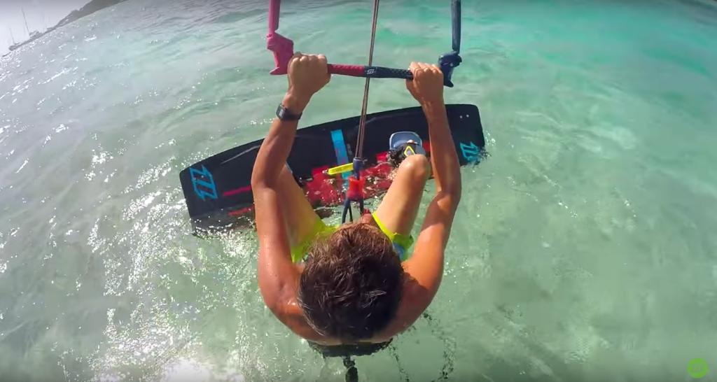 kitesurfing-waterstart