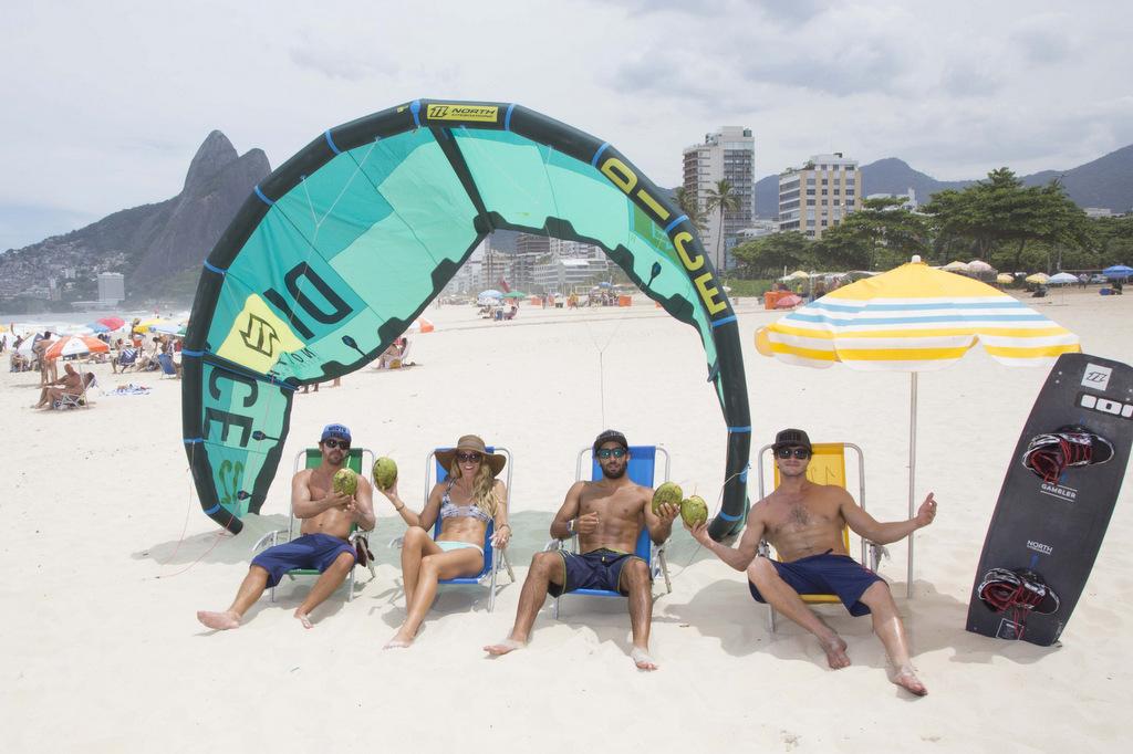 latawiec kitesurfing